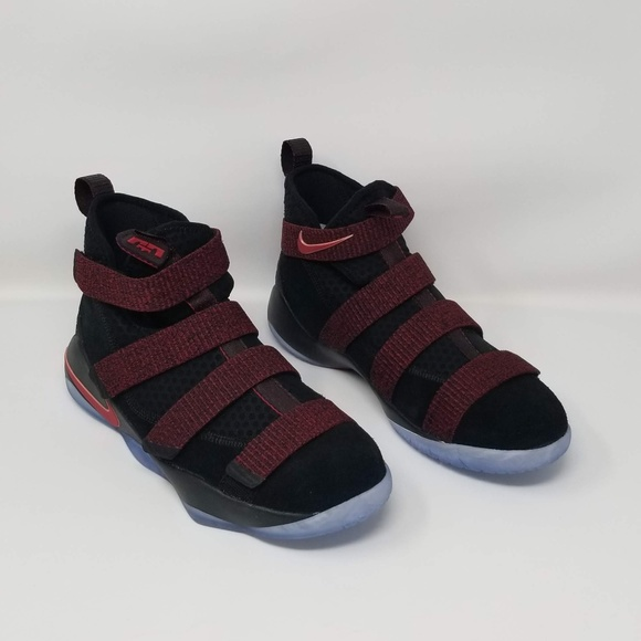 buy popular b4fe7 ceb0d Nike LeBron Soldier XI Boys (GS) 918369-008 NWT
